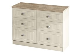 Vienna 6 Drawer Midi Chest