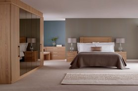 Linear Fitted Bedroom