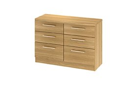 Sherwood 6 Drawer Midi Chest